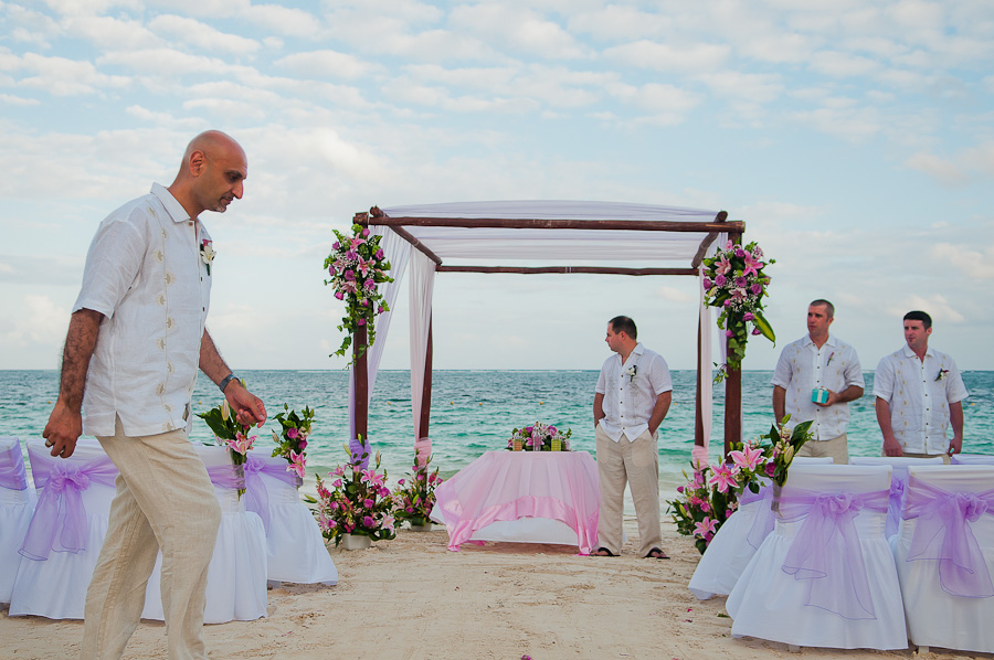 Azul Beach Wedding Photos