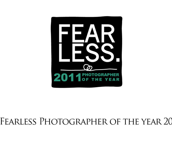 Fearless Photographer of The Year 2011