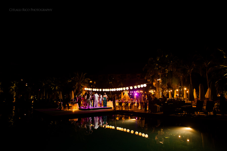 Reception venue Beach wedding SC Dreams Riviera Maya Mexico