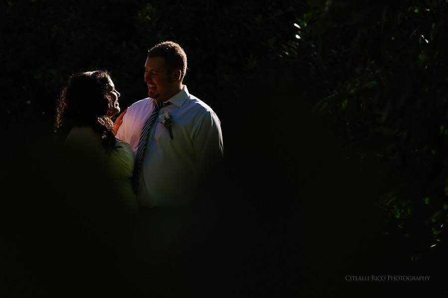 Bride and groom portrait great light Cancun mexico beach wedding SJ Bay Blue Grand