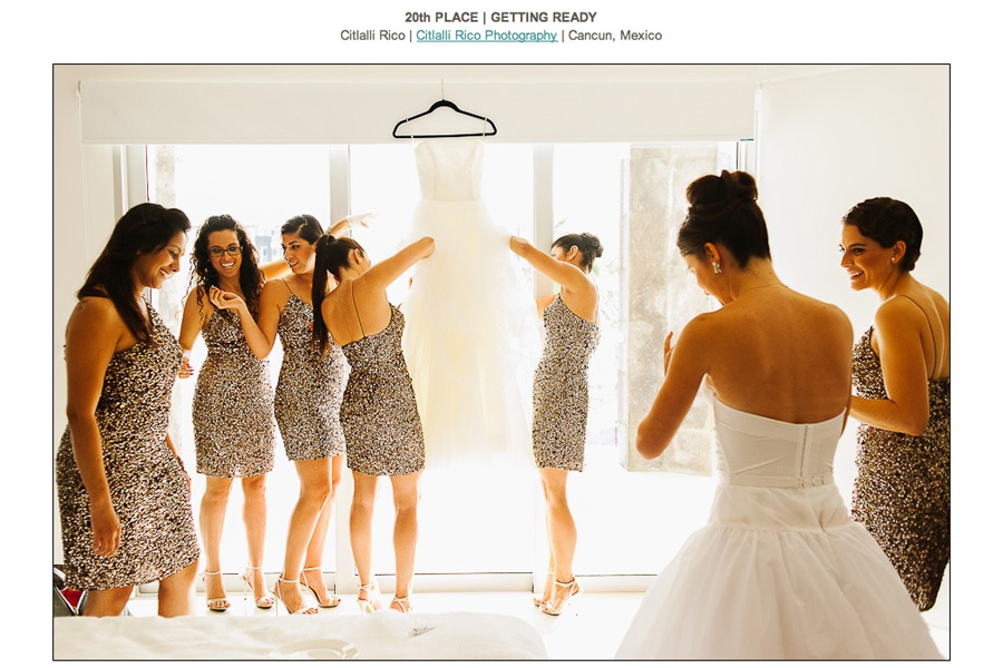 Spring 13 Getting Ready Bride and Bridesmaids Dress ISPWP