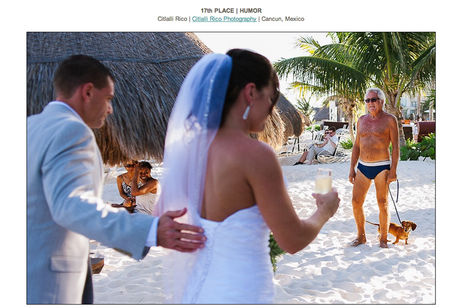 Spring 13 Humor ISPWP Bride Groom Speedo guy funny