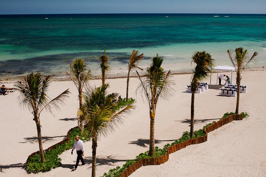Wendy Adam Beach Venue wedding Dreams Tulum Mexico