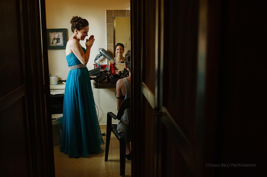 Bride getting ready Lola y Bobby Ana Y Jose Tulum Mexico Wedding