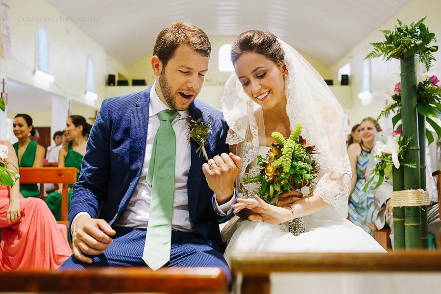 Bride and groom Rings Lola y Bobby Ana Y Jose Tulum Mexico Wedding
