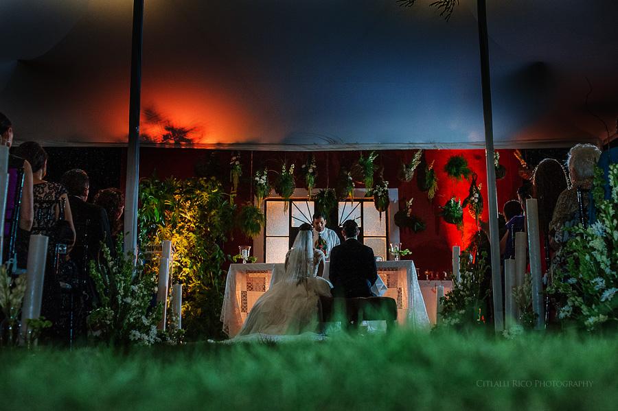 Ceremony in Hacienda Hunxectaman