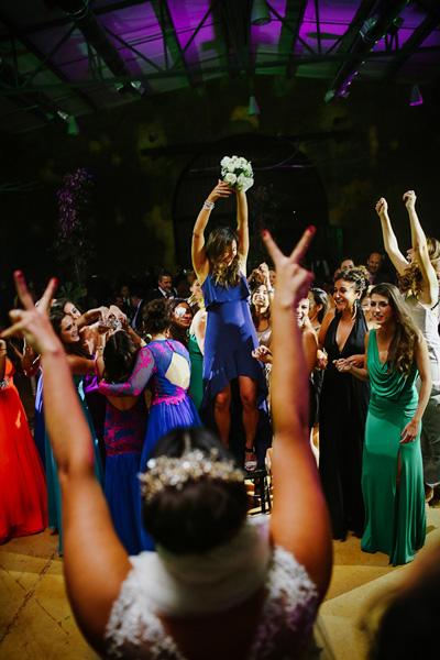 Bouquet toss ideas Mexican Wedding