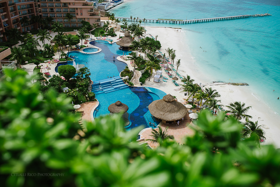 Coral Beach Cancun Wedding