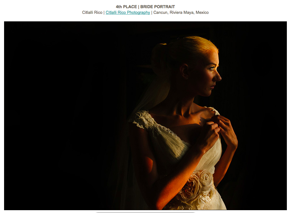 Bride portrait beautiful light ISPWP Contest