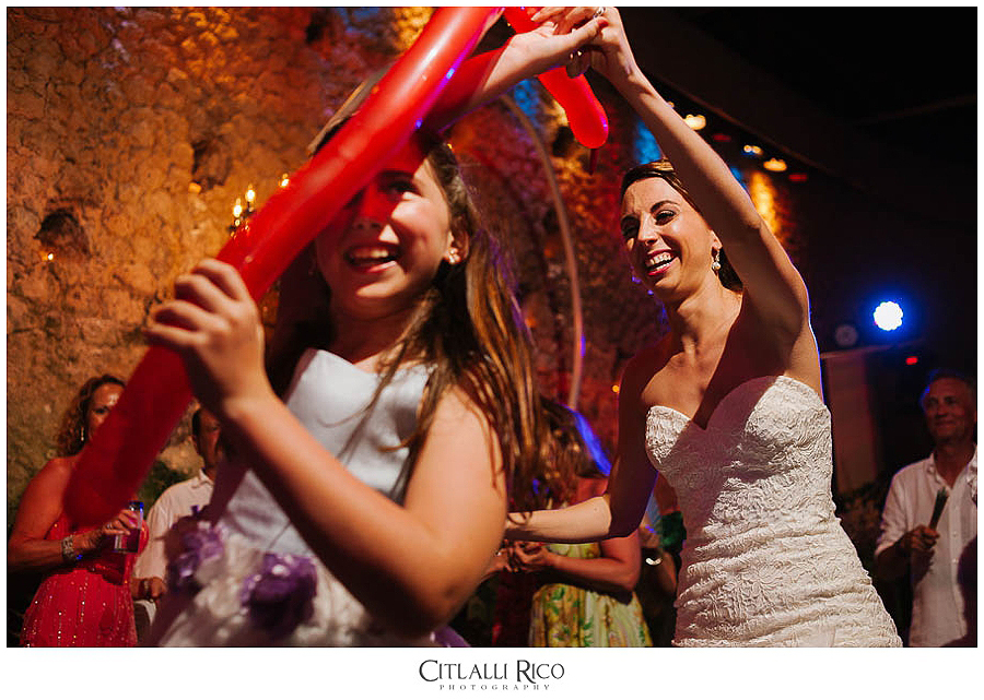 Bride-dancing-with-sister-MJ-Xcaret-Wedding-032