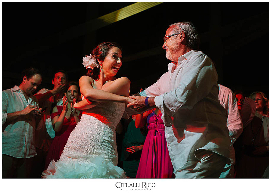 Bride-dancing-and-having-fun-MJ-Xcaret-Wedding-036