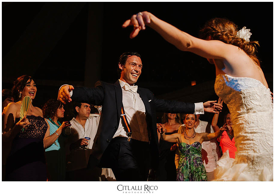 Bride-and-Groom-Dancing-and-laughing-MJ-Xcaret-Wedding-037