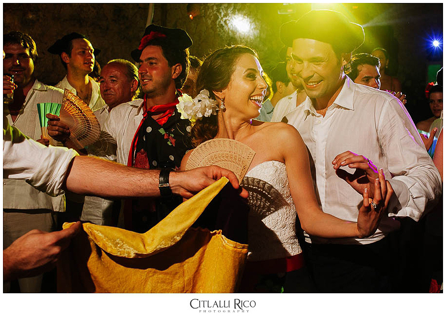 Bride-and-groom-dancing-fun-MJ-Xcaret-Wedding-040