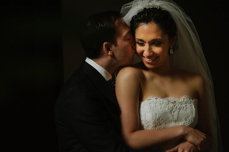 Bride and groom portrait Monterrey Wedding