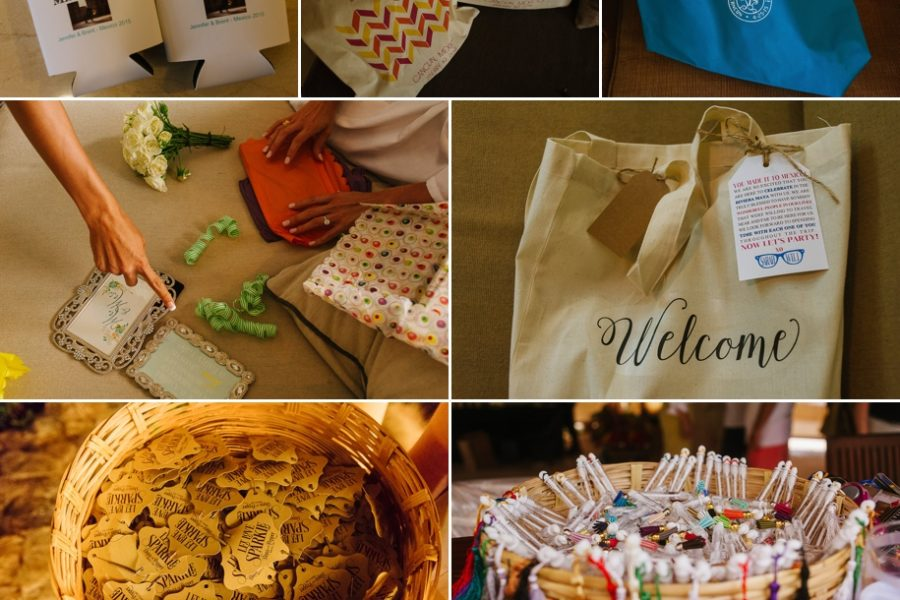Wedding welcome bags for your guests