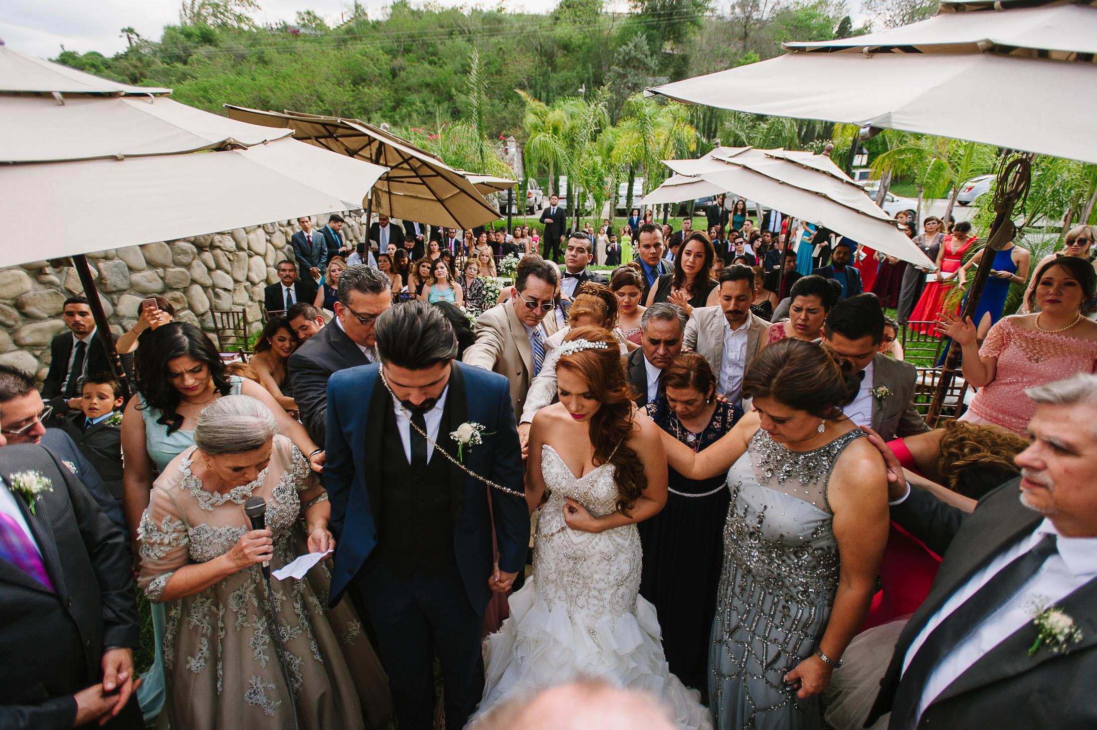 Ceremony in Antigua Hacienda de Santiago