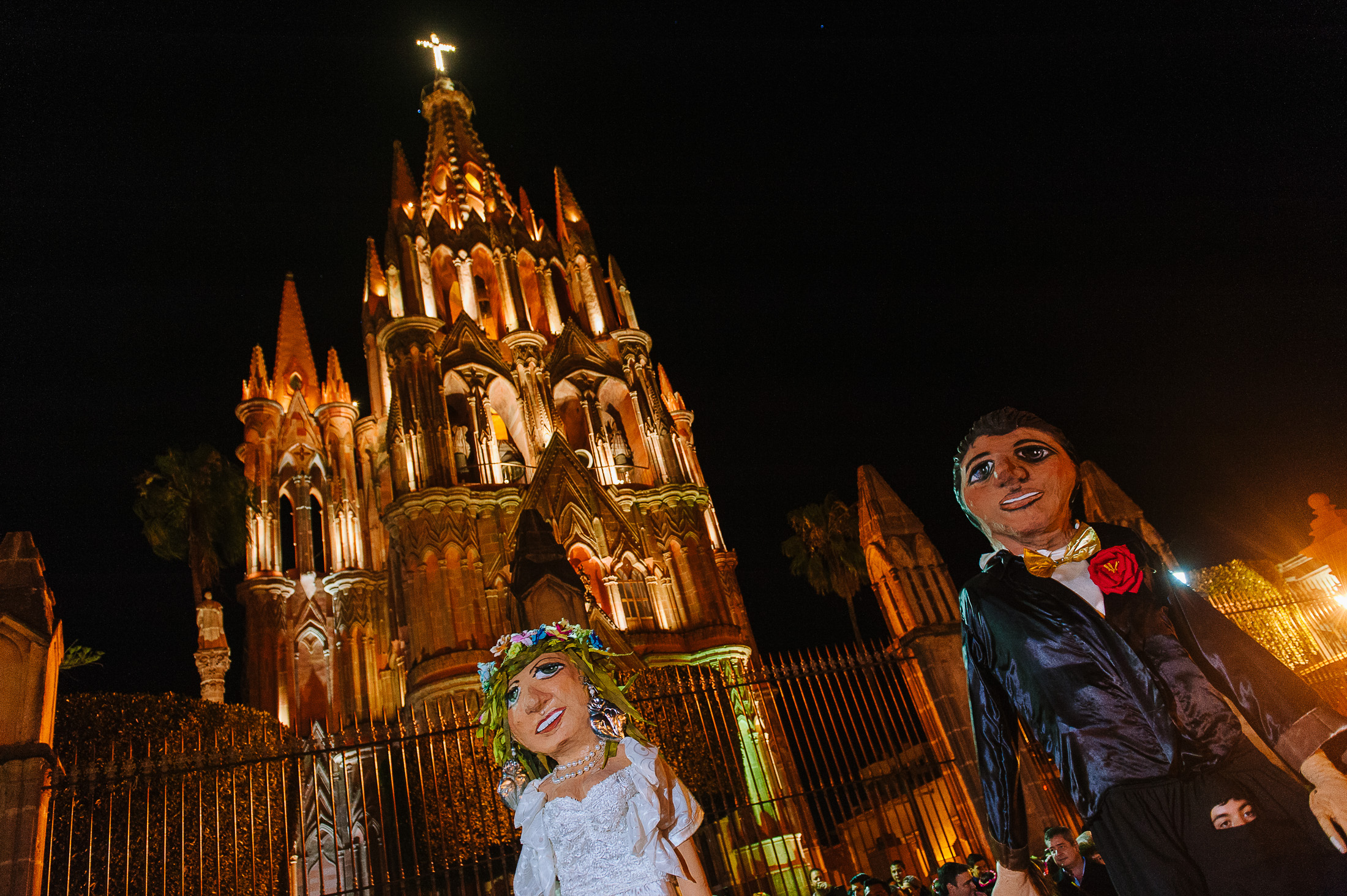 Callejoneada in San Miguel de Allende