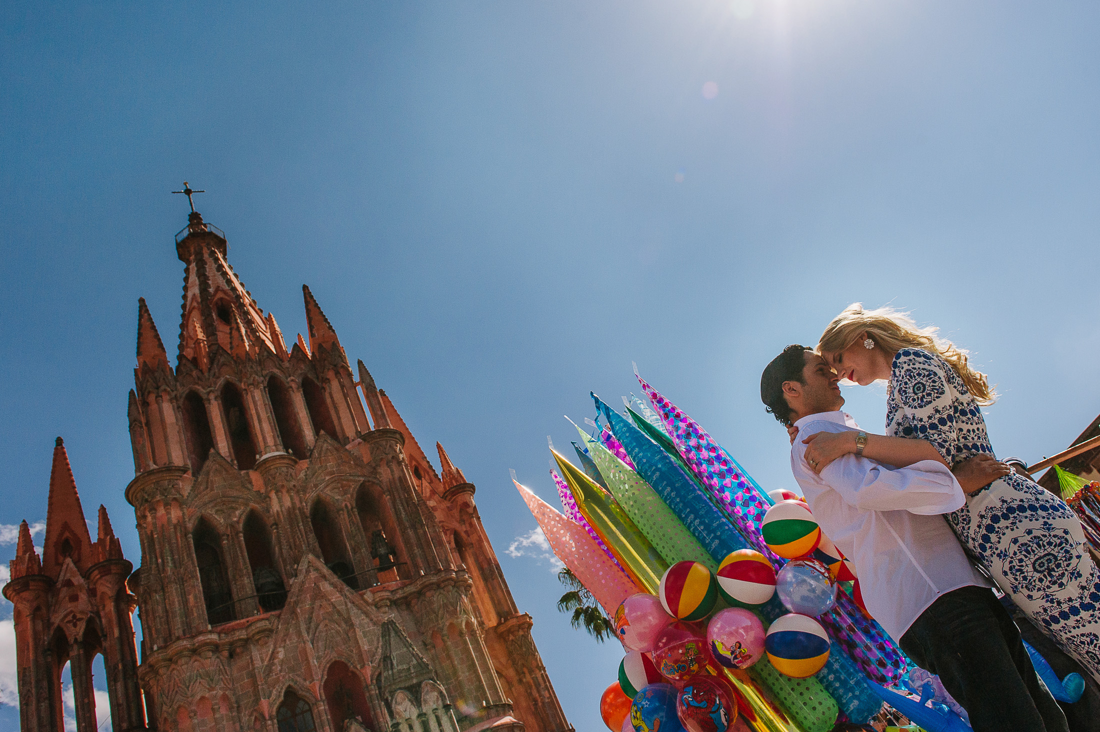 bride and groom portraits San Miguel de Allende