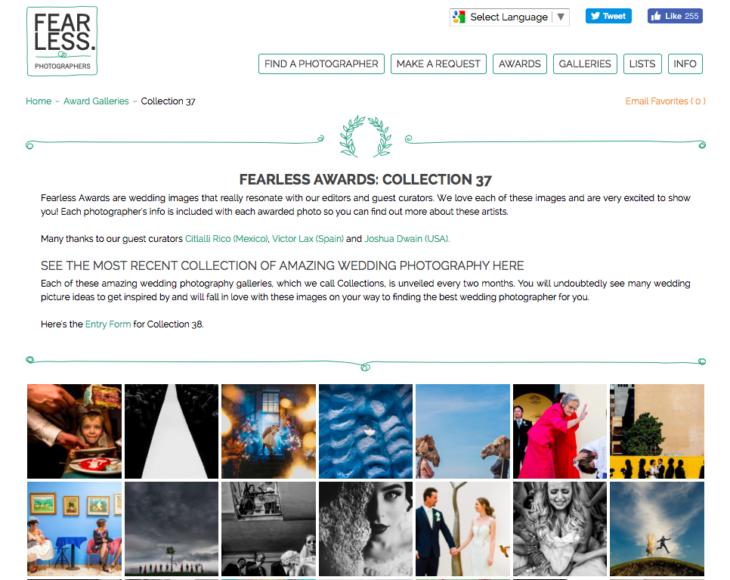 Consejos para ganar fearless awards